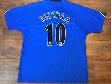 1996 1997 Manchester United Beckham Football Shirt Adults XL Man U Jersey Maglia