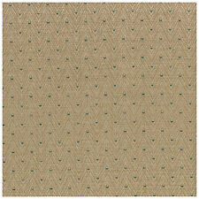 Heavy Duty Upholstery Fabric Crafting Flame Fleece Tan Green Absecon 5 YARD LOT