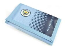 Manchester City FC Wallet Fade Design - Nylon Official Football Club New Gift