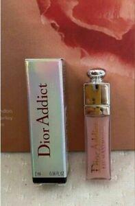 DIOR dior addict lip maximizer gloss 001 pink Mini Travel 2 ml 0.06 .06 oz new