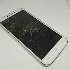 ALCATEL ONETOUCH POP C9 WHITE SMARTPHONE CRACKED SCREEN UNTESTED FOR PARTS