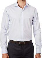 Tommy Hilfiger Herren Hemd, Cotton Dress Shirt Regular Fit Größe: 17.5 (34/35)