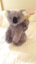 "Aurora Mom with Baby Gray Koala Bears 14""Stuffed Animal Plush NWT San Diego Zoo"
