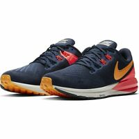 Nike Air Zoom Structure 22 Running Shoes Blue Orange Grey [AA1640-400] Womens 12