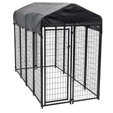 Lucky Dog Uptown Large Welded Kennel Heavy Duty Dog Cage Fence Pen (Open Box)