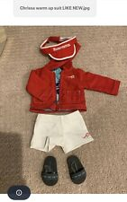 Chrissa Warm Up Suit Shoes GOTY American Girl Visor Doll Retired