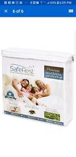 SafeRest TWIN XL Premium Mattress Protector Repels Fluids Dust Mites Bacteria