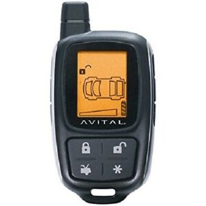 Avital 7345l 4-Button Lcd Replacement