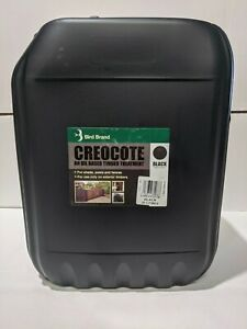 CREOCOTE BLACK  20LITRE creosote substitute Oil Based Timber/Fence Treatment 20L