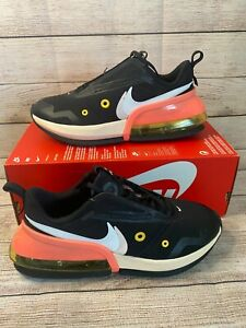 Air Max Up **WOMEN** Black/Pink/Solar Flare CT1928-001 SIZE 8 NEW IN BOX NO LID