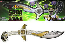 Power Rangers Legacy ~ WHITE RANGER'S SABA SWORD REPLICA COSPLAY ~ Bandai MMPR