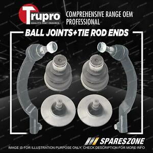 Trupro Ball Joint Tie Rod End Kit for Renault Master X70 8/2004-8/2007