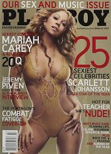 Playboy March 2007 Mariah Carey Scarlett Johansson Tyran Richard Nude Teacher