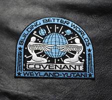 Alien Movie Prometheus Covenant Weyland Corp Crew Uniform Cosplay Patch