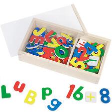 Goki Magnet-Alphabet und Zahlen Buchstaben Magnetisch A B C Schreiben Rechnen