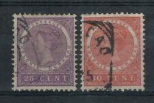 Netherlands Antilles Scott 40 - 41 in Used Condition (CV ~ $15)