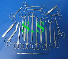 Set Of 19 Pieces Minor Surgery Surgical Instruments  DS-816