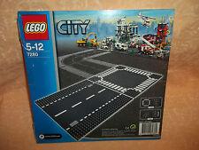 LEGO CITY  n° 7280  RETTILINEO E INCROCIO     5-12 anni  cod.7838