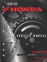 1998-99 HONDA MOTORCYCLE VT750C/CD SERVICE MANUAL
