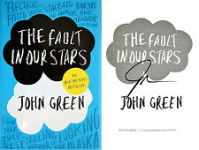 John Green~SIGNED~Fault in Our Stars~1st Ed HC + Photos!!! Printz Award Winner!