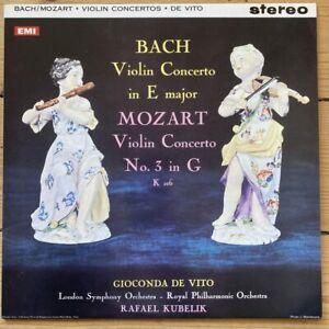 ASD 429 Bach / Mozart Violin Concertos / Gioconda De Vito 180 gram