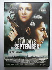 A FEW DAYS IN SEPTEMBER - DVD - NICK NOLTE JOHN TURTURRO