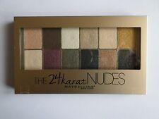 Maybelline 24 quilates desnudos Paleta de Sombra de ojos
