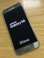 Samsung Galaxy S6 SM-G920F - 32GB - Gold Platinum Unlocked Mobile Phone WORKING