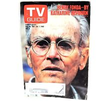 Vintage TV Guide - Dec. 26, 1981 - Jan. 1, 1982 - Henry Fonda