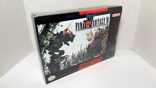 Final Fantasy VI 6 - [BOX ONLY] English SNES NTSC [GAME NOT INCLUDED]