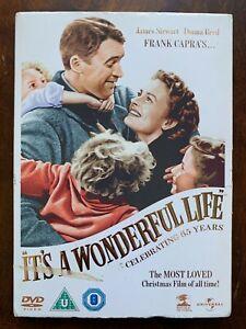 It's a Wonderful Life DVD 1947 James Stewart Christmas Movie Classic