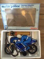 Jeux Jouet Ancien moto de police electrique teleguidee JOUSTRA dans sa boite