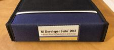 National Instruments NI Developer Suite 2011 & 2012 w/license