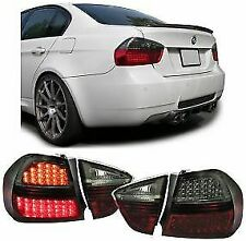 BMW E90 3 SERIES PREFACELIFT SALOON 12/04-2008 SMOKED LED REAR TAIL BACK LIGHTS