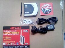 Buffalo WHR-HP-G54 Wireless-G High Power Router And Access Point