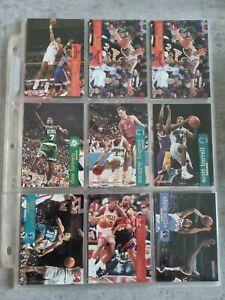 Lot de 43 cartes NBA Hoops Skybox 1995