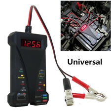 12V LCD Display Digital Battery Tester Voltmeter and Charging System Analyzer