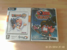 worms 3d & worms blast     new&sealed