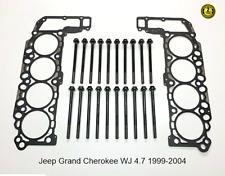 Jeep Grand Cherokee WJ 4.7 Engine Head Gaskets & Bolts SET 1999-2004