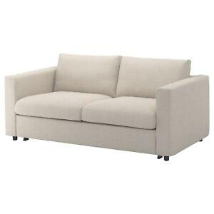 New Ikea VIMLE 2-seat sofa bed COVER SET , Gunnared Beige