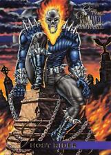 GHOST RIDER / 1995 Fleer Flair Marvel Annual BASE Trading Card #123