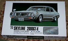 Arii 11154 1972 Nissan Skyline 2000 GT-X model kit 1/24