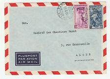 STORIA POSTALE 1951 TRIESTE L.30+55 SU BUSTA DIRETTA IN ALGERIA Z/3697