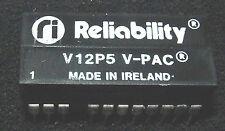 Reliability V12P5 12v to 5v 200ma dc convertor V-PAC 500v isolation