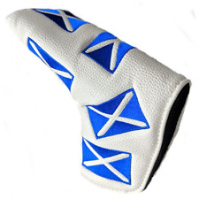 SCOTLAND FLAG GOLF PUTTER HEADCOVER - FITS SCOTTY CAMERON, PING & ODYSSEY