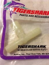 Tigershark Arctic Cat Tee Fitting 0673-484 3/8 x 3/8 x 1/2 Nos Oem Daytona