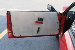 LRB Speed Aluminum Door Panels Fits: Toyota 84-89 AW11 MR2 Card