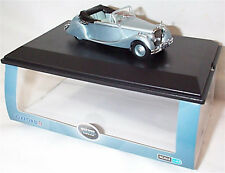 Oxford Diecast Jaguar MKV DHC Open Opalescent Silver 1:43 Diecast Car  43JAG5001