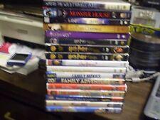 (29) Childrens Adventure DVD Lot: Disney (3) Harry Potter Inkheart Monster House