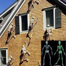 90cm Lumineux Squelette Suspendu Soirée Décoration Mur Porte Halloween BM01